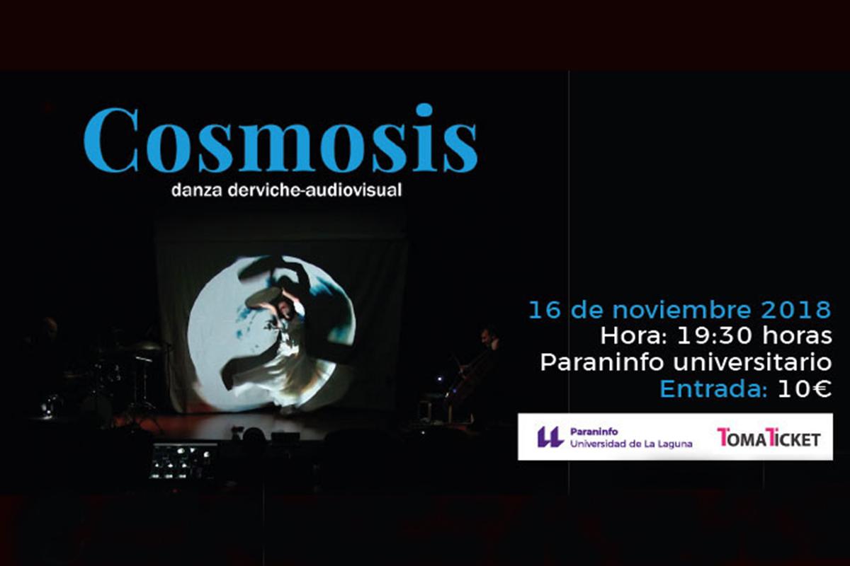 El Paraninfo trae a La Laguna el espectáculo de danza derviche audiovisual 'Cósmosis'