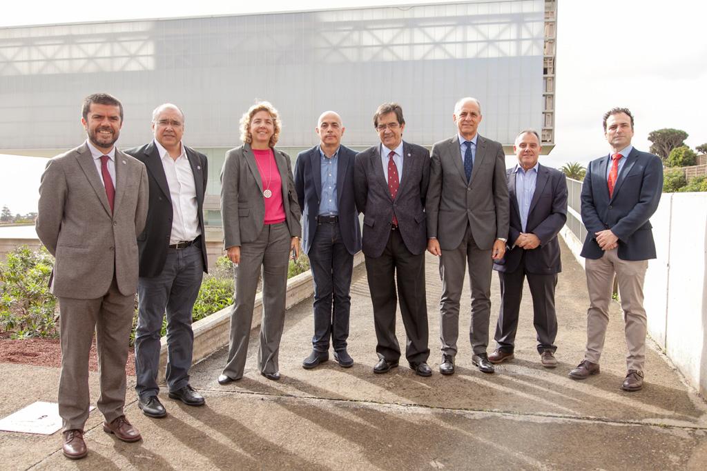 Visita de la Cámara de Comercio de Santa Cruz de Tenerife la SEGAI