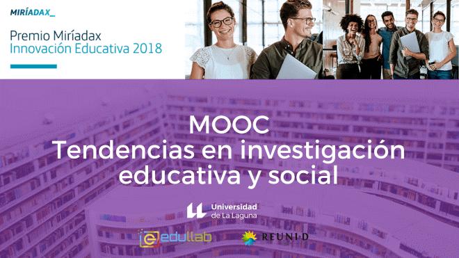 Imagen del curso MOOC coordinado por la ULL, finalista del Premio Innovación Miríadax de Telefónica