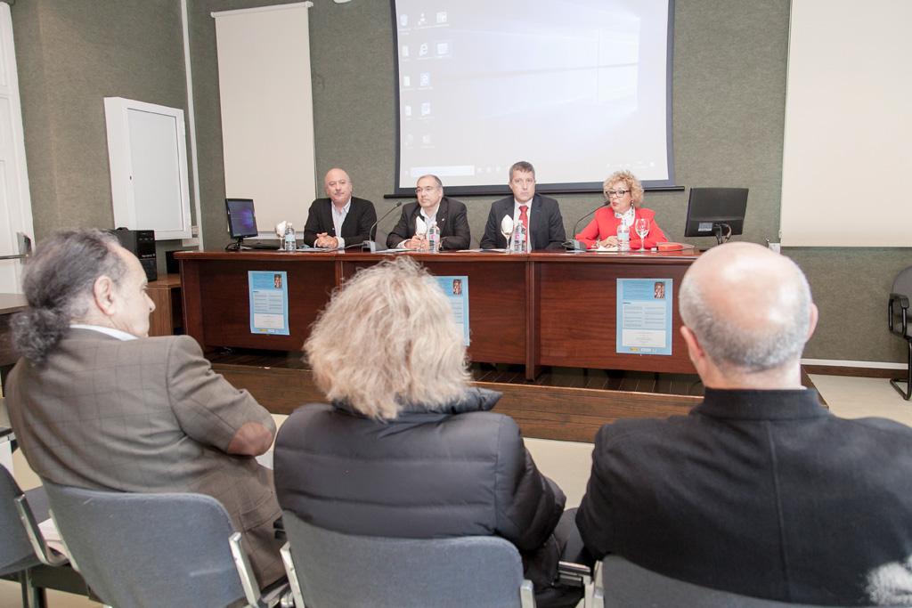 Imagen de la inauguración de este seminario sobre los arquetipos femeninos en la Antigüedad y la Edad Media.