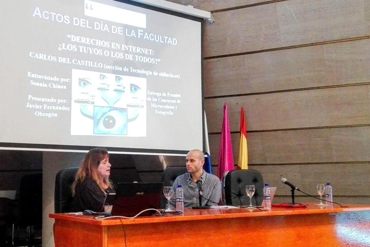 La Facultad de Ciencias Sociales y de la Comunicación de la ULL celebró su día reflexionando sobre Internet