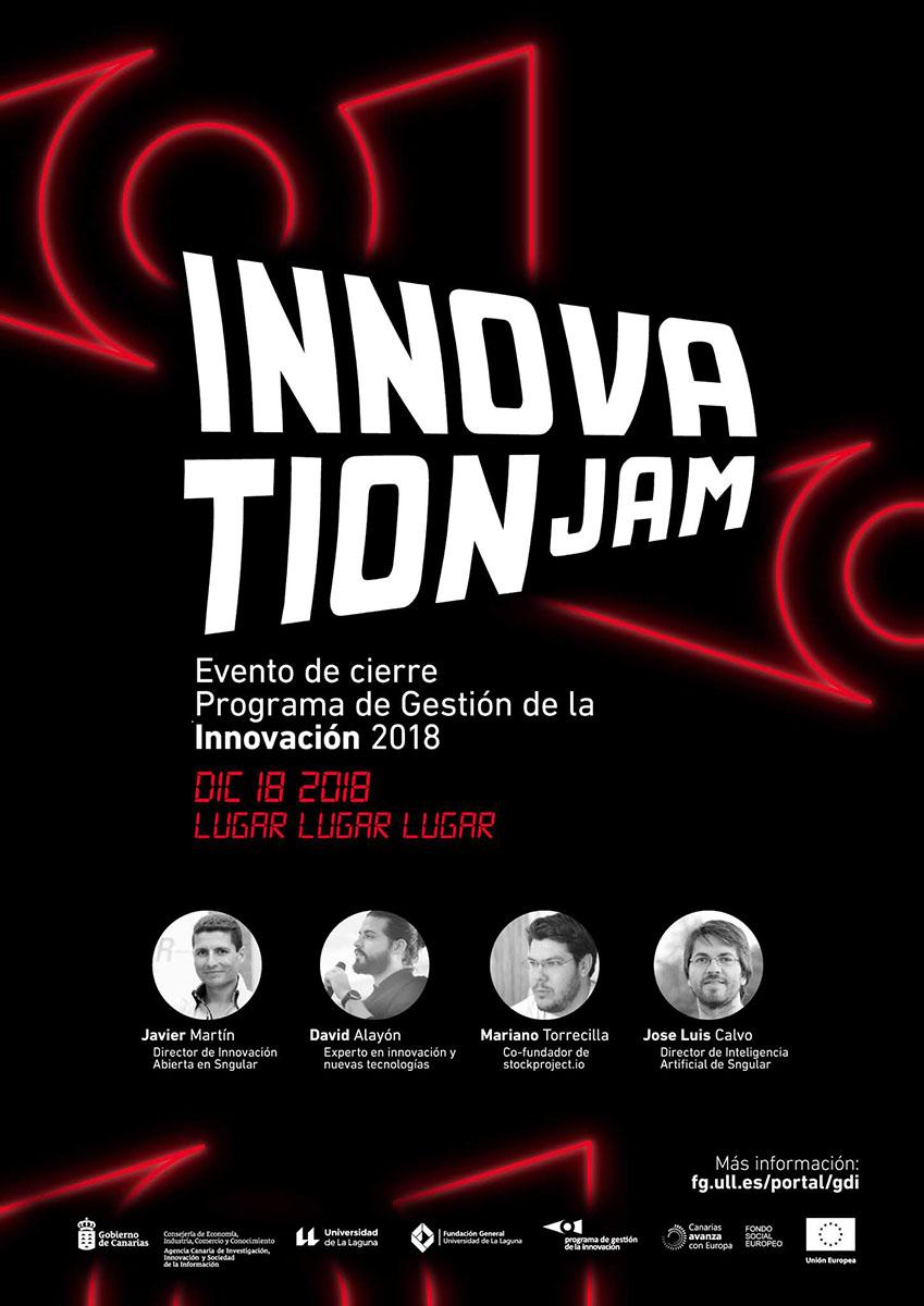 'Innovation Jam' se inspira en los ochenta