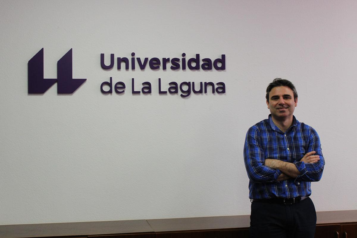 Fotografía del investigador Luis Olmos