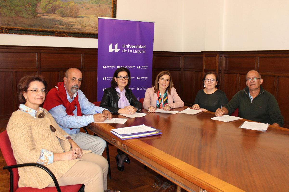 La Universidad de La Laguna formaliza la firma de varios acuerdos sobre mejoras retributivas pendientes