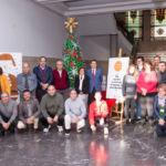 Fotos de los presentes en el taller Giro-Arte de SINPROMI que colaboró con la ULL