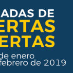 Cartel de la Jornadas de Puertas Abiertas 2019
