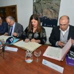 Imagen de la firma de este acuerdo para impulsar la investigación en energía undimotriz.