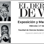 Cartel de la exposición sobre víctimas de violencia sexual durante el conflicto armado colombiano