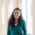 La investigadora Adriana Rodríguez, experta en cambio climático en el mar