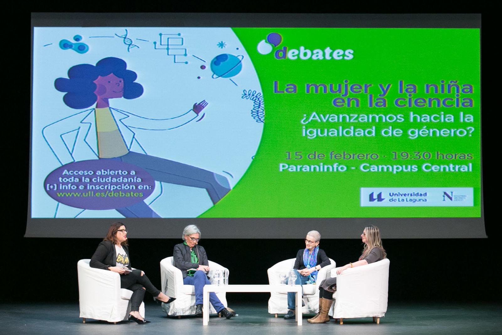 debate de mujer y ciencia