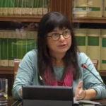 Comparecencia de Esther Torraod para presentar su informe sobre prostitución en Canarias.