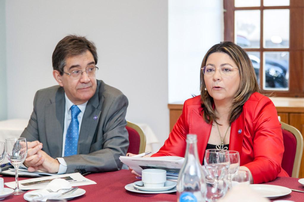Norena Martín, titular del Vicerrectorado de Infraestructuras y Servicios Universitarios