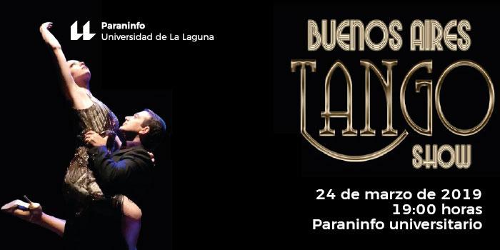 'Buenos Aires Tango Show' trae un trozo de la ciudad argentina al Paraninfo