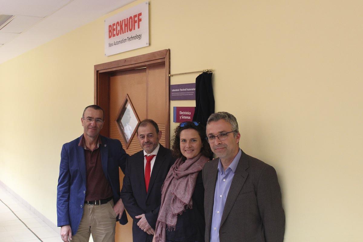 """La Escuela Superior de Ingeniería y Tecnología de la ULL inauguró el laboratorio """"Beckhoff Automation"""""""