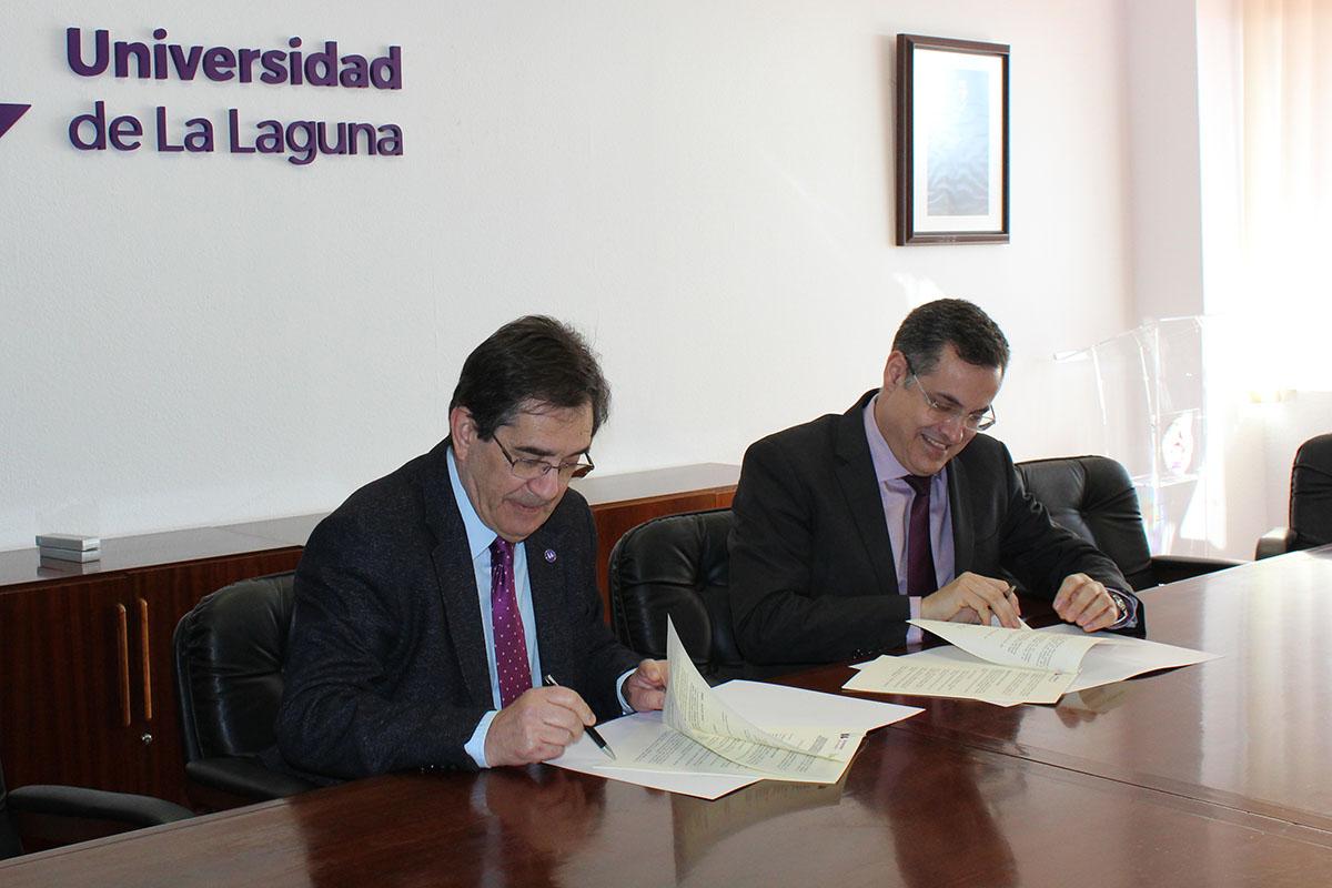 La Universidad de La Laguna crea con Binter Sistemas S.L. una nueva Cátedra Institucional de Ciberseguridad