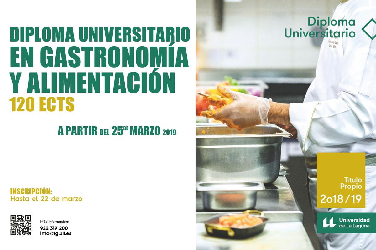 Diploma Gastronomía