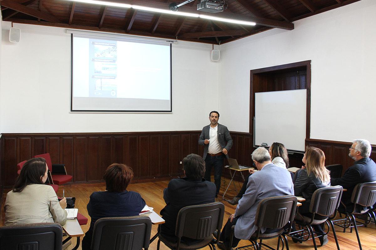Presentación proyecto de itinerario cultural