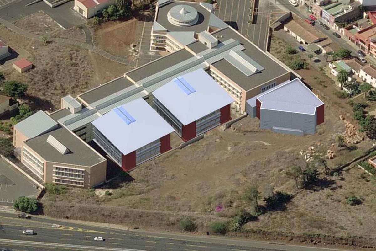 La Universidad de La Laguna pone en marcha siete obras por más de millón y medio de euros