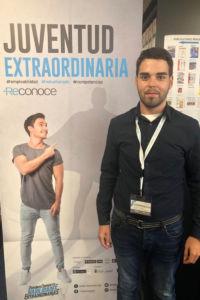 Aitor Fernández Cabello, durante el encuentro de Evaluadores Reconoce.