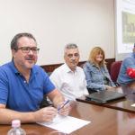 Imagen de la rueda de prensa de presentación del tercer panel ciudadano sobre gestión sostenible de residuos.