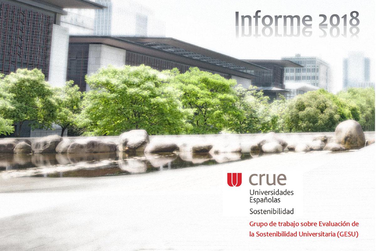 Imagen de la portada del informe de Sostenibilidad Ambiental