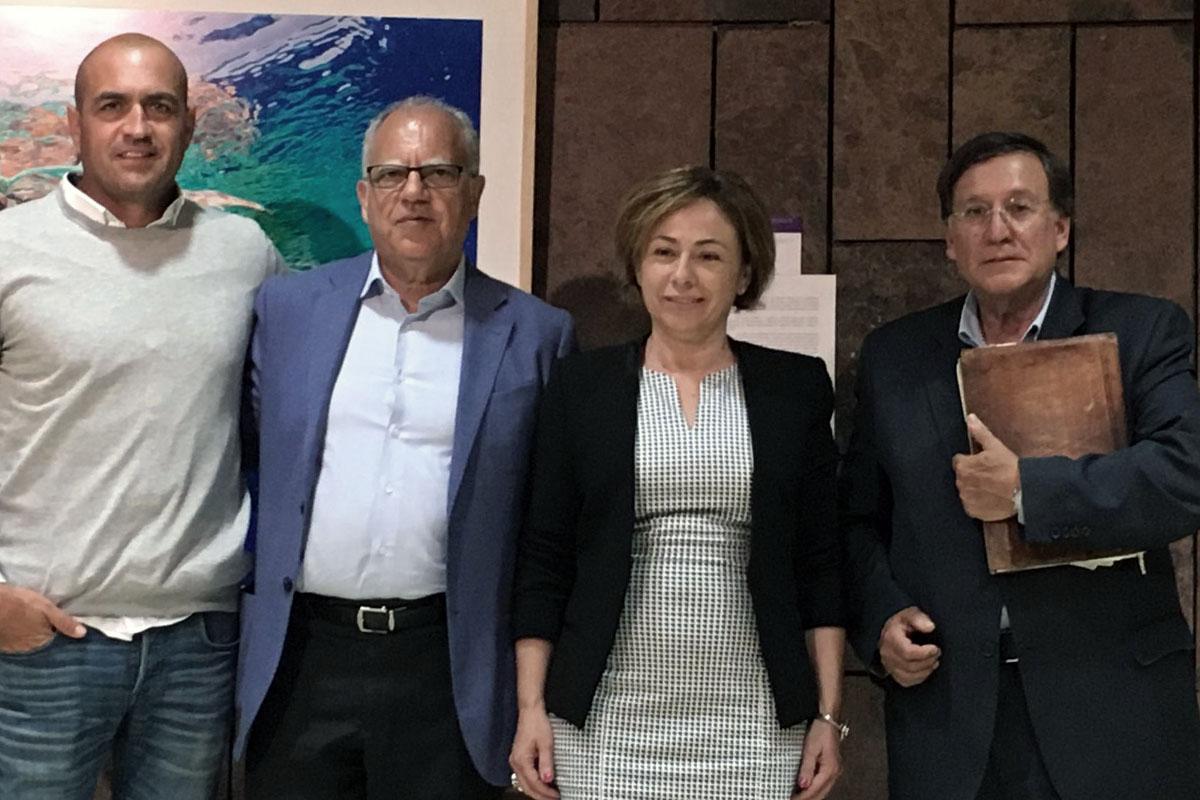 Rosa Aguilar y Casimiro Curbelo inauguran la Universidad de Verano de La Gomera