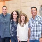 De izquierda a derecha, Jacob Lorenzo, Fernanda M. Frank, Patricia B. Petray y José Enrique Piñero, coordinadores y ponentes de este seminario sobre enfermedades desatendidas.