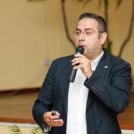 Juan Carlos Santamarta durante su intervención.