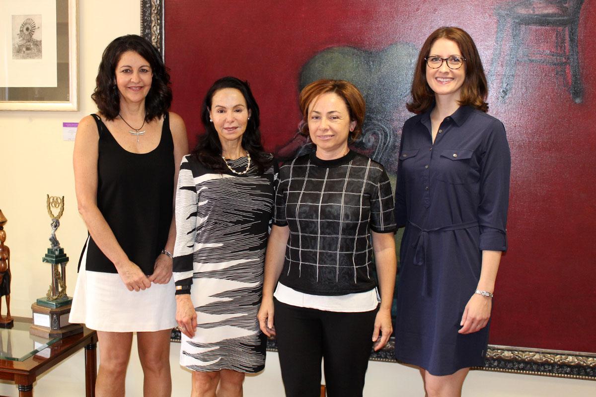La ULL revalida su compromiso con el programa Fulbright y recibe a dos profesoras norteamericanas