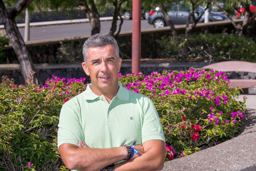 Eduardo Parra en la Facultad de Economía, Empresa y Turismo