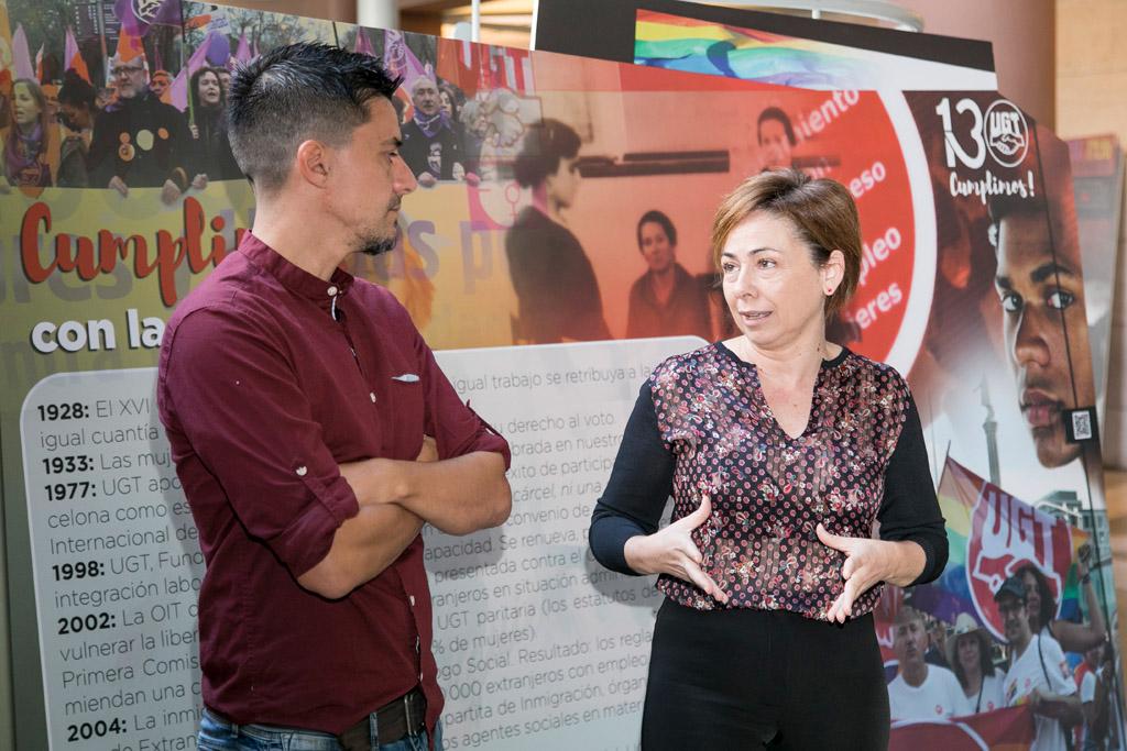 La Universidad de La Laguna acoge una exposición de UGT en la que repasa la historia laboral de España