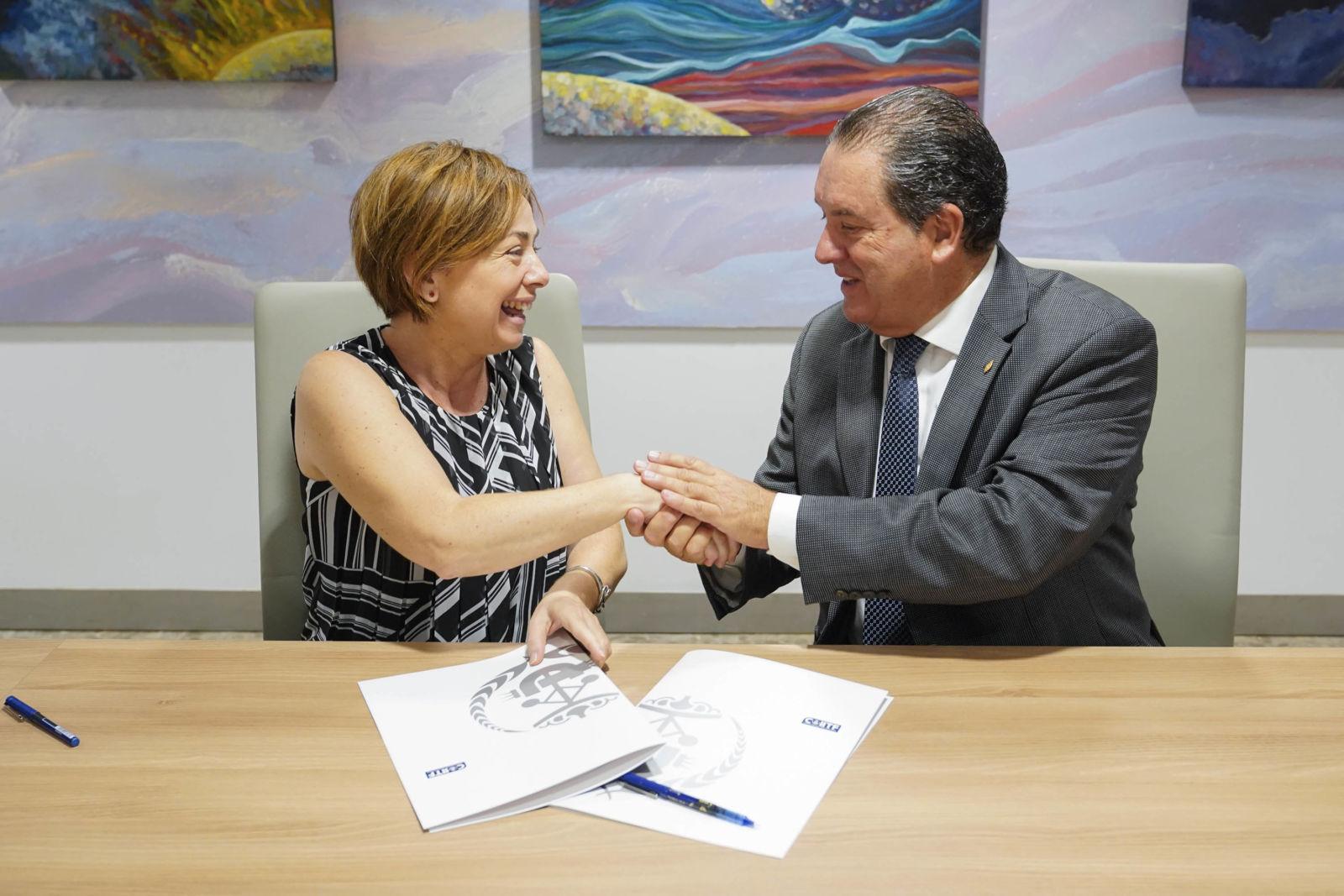 El Colegio de Ingenieros Industriales y la Universidad de La Laguna colaboran para promover el talento y emprendimiento