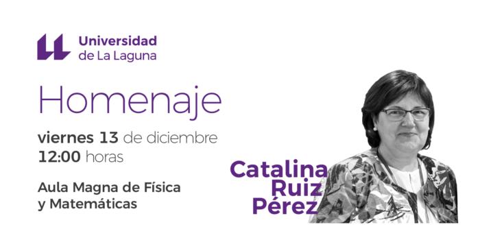 Homenaje a Catalina Ruiz
