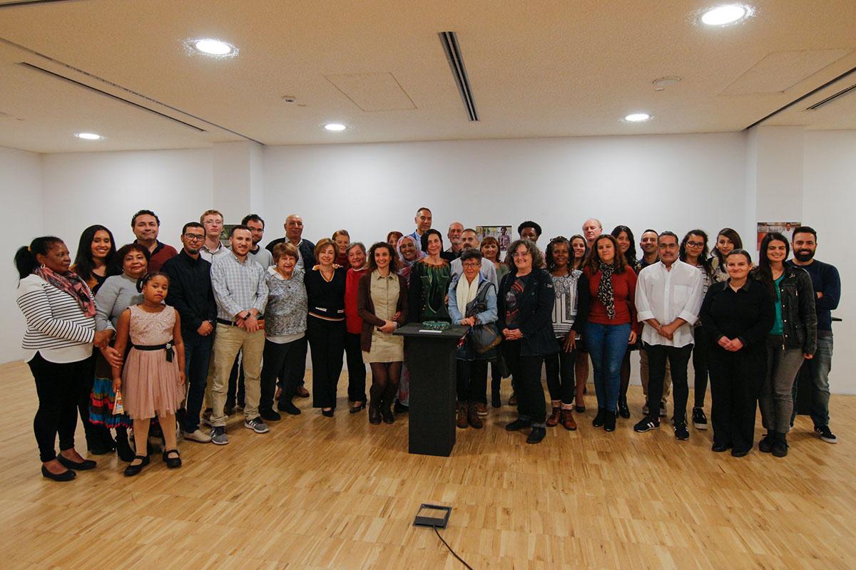 TEA acoge la exposición 'Alfonso Delgado, el arte de la convivencia', con motivo del X aniversario de Juntos En la misma dirección