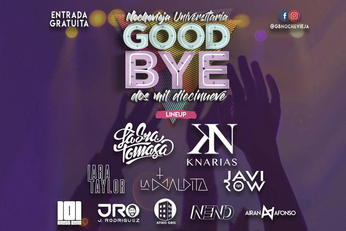 La 'Nochevieja Universitaria Goodbye 2019' adelanta el Fin de Año a este sábado