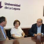 Juan Jesús Méndez Siverio, Rosa Aguilar y Cleente González.