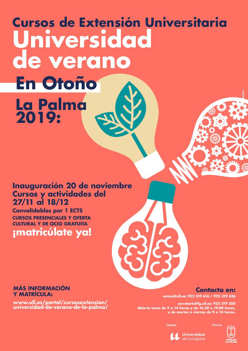 La Universidad de Verano en Otoño de La Palma oferta cursos sobre patógenos en humanos y mindfulness