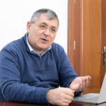 El delegado de protección de datos de la ULL, Ricard Martínez, durante su visita a la ULL en enero de 2020.