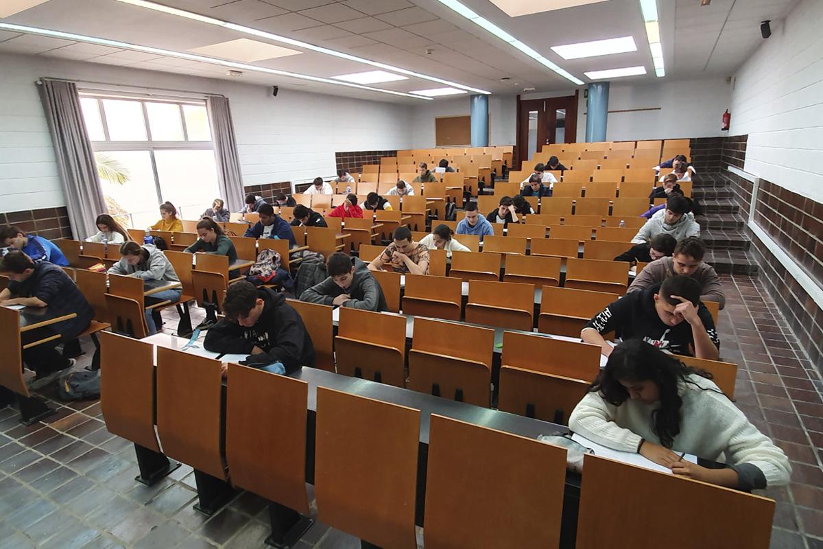 La ULL acoge la quincuagésimo sexta edición de la fase local de la Olimpiada Matemática Española