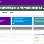 Sede Electrónica de la Universidad de La Laguna