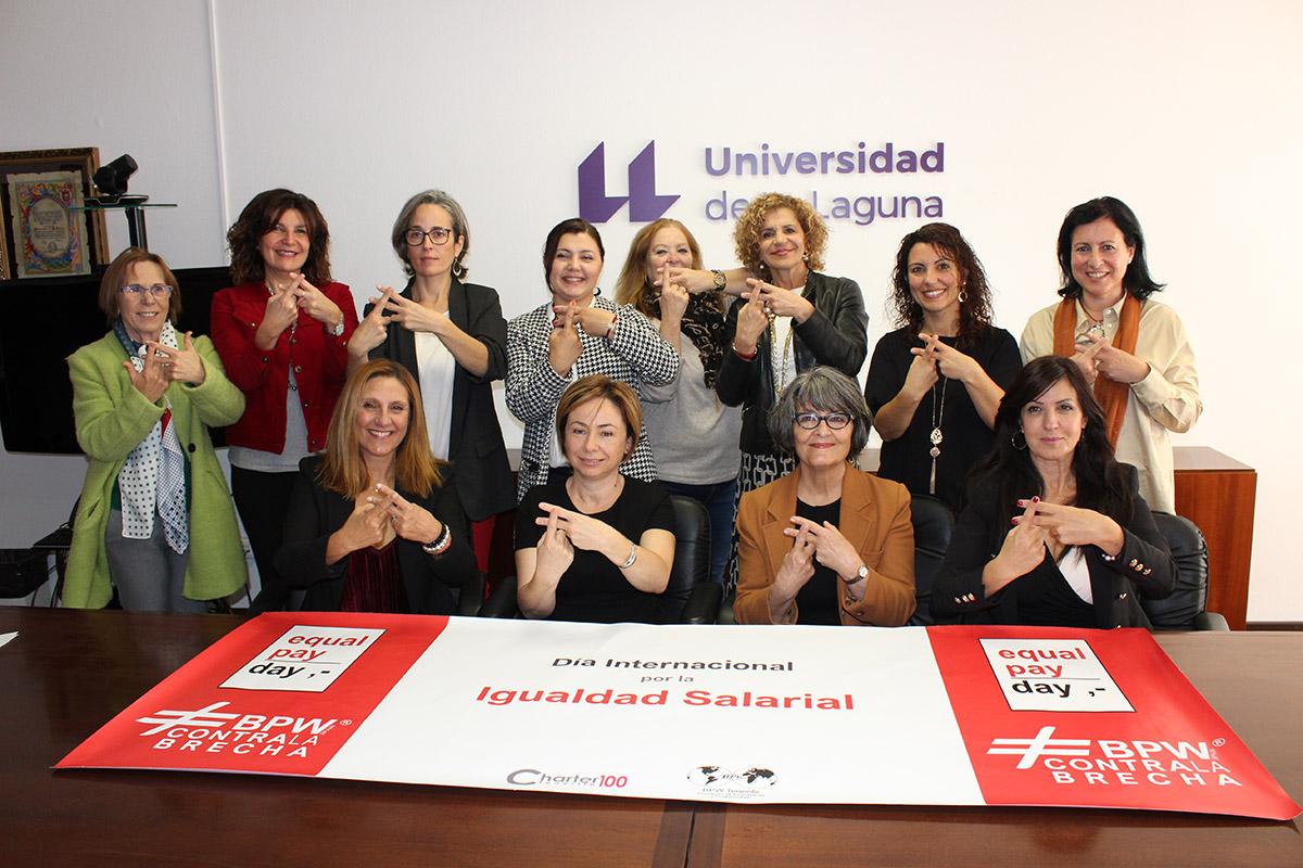 La ULL se suma a la lucha para romper la brecha salarial entre hombres y mujeres