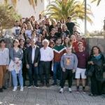 Imagen de grupo del alumnado del curso y las personas componentes del proyecto MACBIOBLUE en la UL