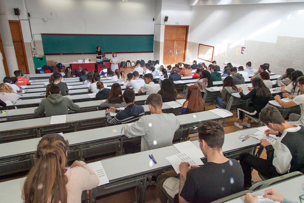 Imagen de archivo de los exámenes de la EBAU de 2018
