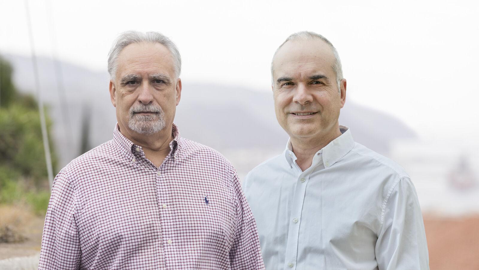 Pedro Dorta y Juan Capafons