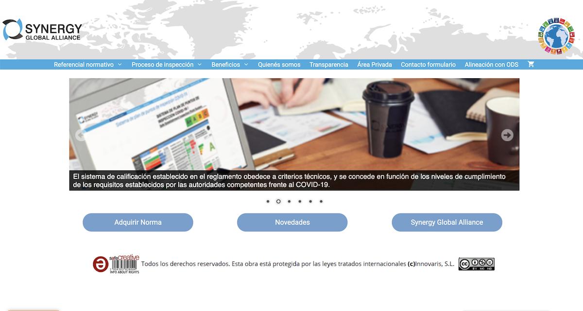Web de la Alianza Global Synergy.