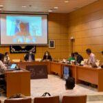 Imagen del pleno del PTFTV donde se realizó la propuesta.