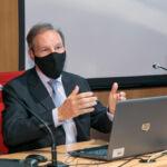 Ricardo J. Palomo Zurdo durante su intervención.