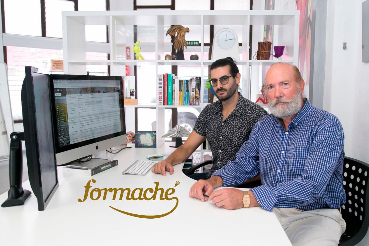 Carlos Morán (i) y Damián de Torres (d), creadores de Formaché.