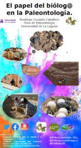 Conferencia  sobre paleontología