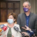 rueda de prensa sobre los sucesos del Campus de Guajara
